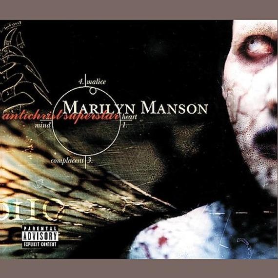 MARILYN MANSON: ANTICHRIST SUPERSTAR (CD)