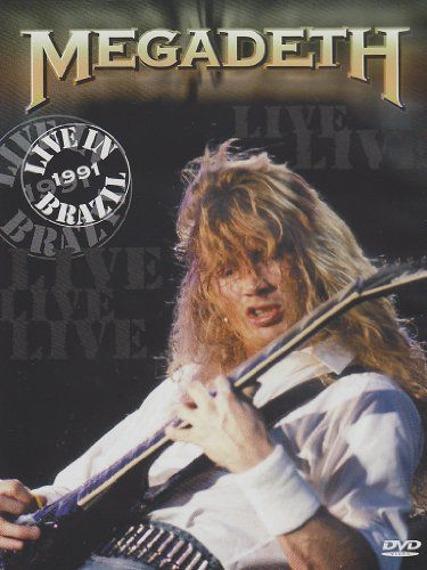 MEGADETH: LIVE IN BRAZIL 1991 (DVD)