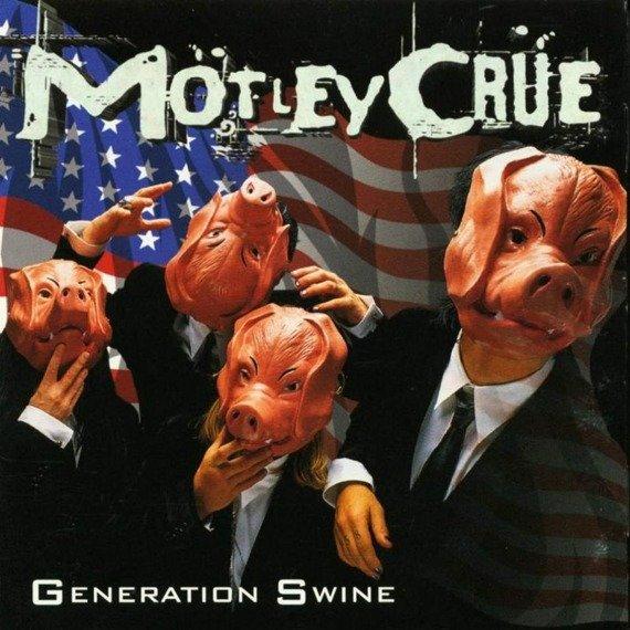 MOTLEY CRUE: GENERATION SWINE (CD)