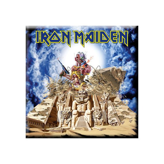 Magnes na lodówkę IRON MAIDEN - SOMEWHERE BACK IN TIME