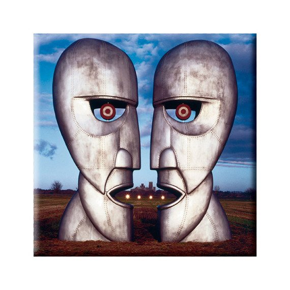 Magnes na lodówkę PINK FLOYD - THE DIVISION BELL METAL HEADS