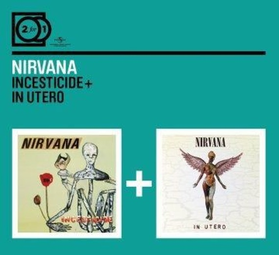 NIRVANA: 2 FOR 1:  INCESTICIDE / IN UTERO (2CD)