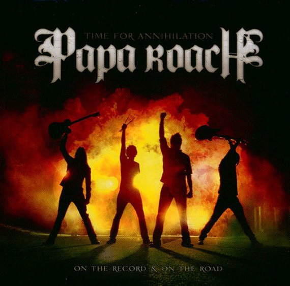 PAPA ROACH: TIME FOR ANNIHILATION...ON THE RECORD & ON THE ROAD (CD+DVD)