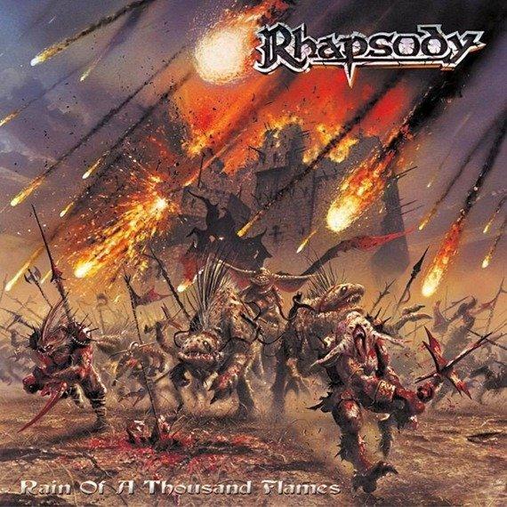 RHAPSODY: RAIN OF A THOUSAND FLAMES (CD)