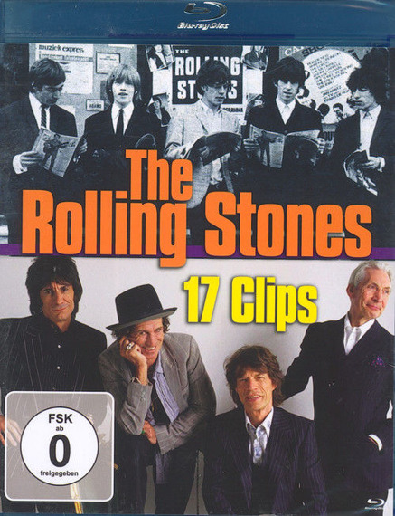 ROLLING STONES: 17 CLIPS (BLU-RAY)