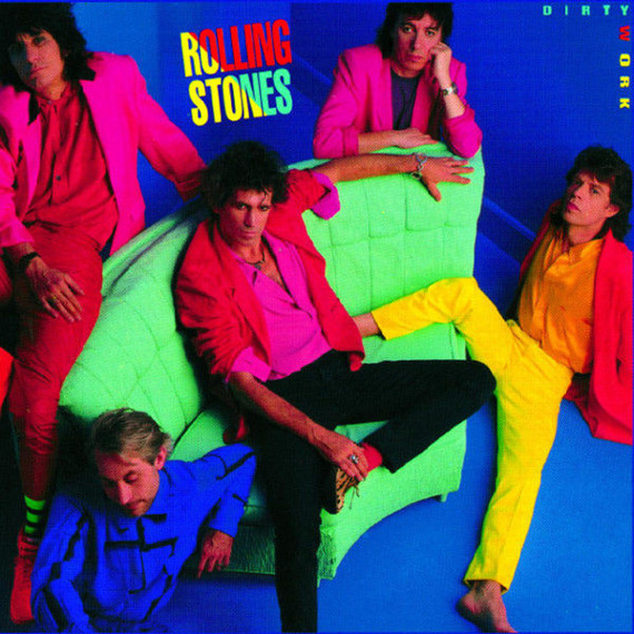 ROLLING STONES: DIRTY WORK (CD) REMASTER