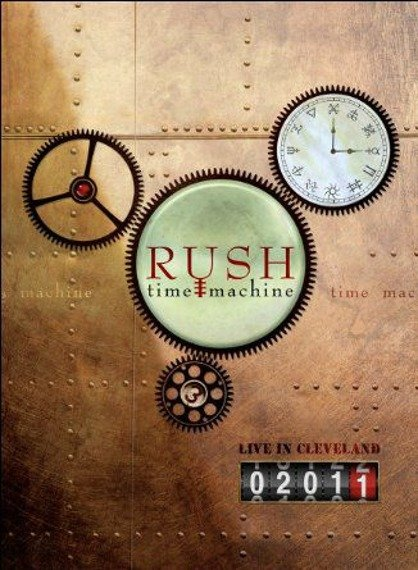 RUSH: TIME MACHINE 2011 LIVE IN CLEVELEND (BLU-RAY)