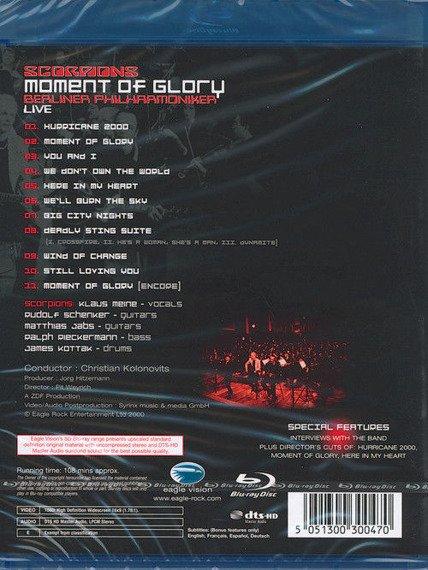 SCORPIONS: MOMENT OF GLORY (BLU-RAY)