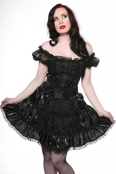 Sukienka BLACK ROSES