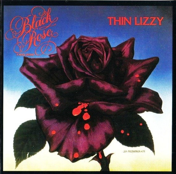 THIN LIZZY: BLACK ROSE (2LP VINYL)