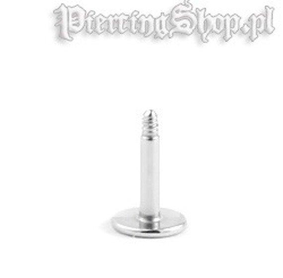 TYTANOWY PRęCIK LABRET - PIN grubość 1,2mm
