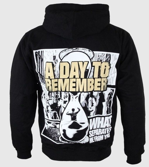 bluza A DAY TO REMEMBER - GOLDEN EAGLE, kangurka z kapturem