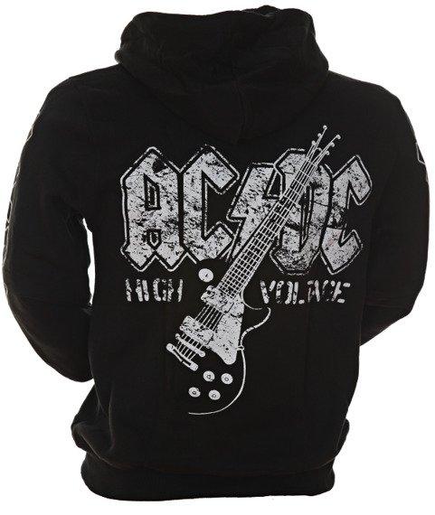 bluza AC/DC - HIGH VOLTAGE rozpinana, z kapturem