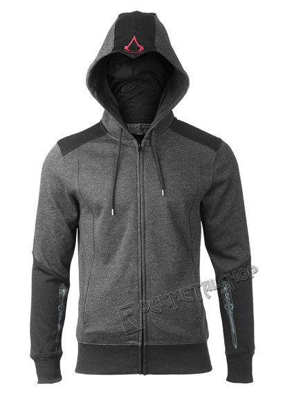 bluza ASSASSINS CREED - BLACK FLAG, rozpinana z kapturem
