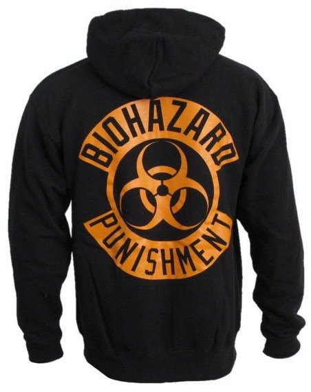 bluza BIOHAZARD - PUNISHMENT, rozpinana z kapturem