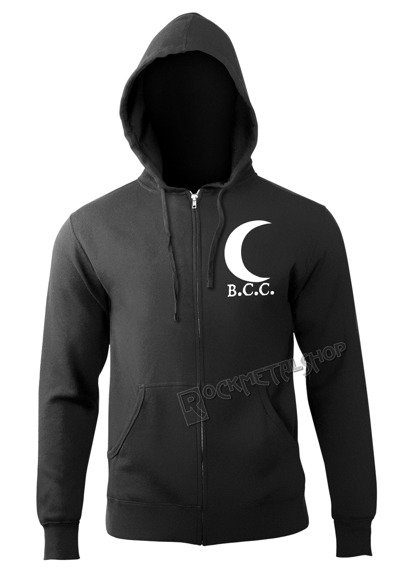bluza BLACK CRAFT - NEVERMORE rozpinana, z kapturem