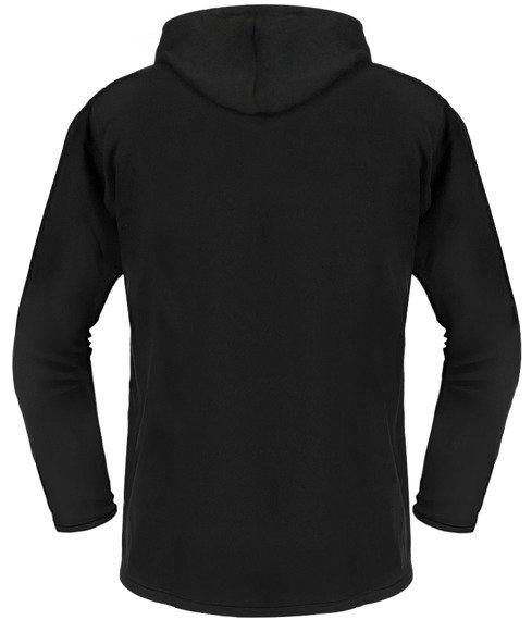 bluza BLACK ICON - FEAR czarna z kapturem