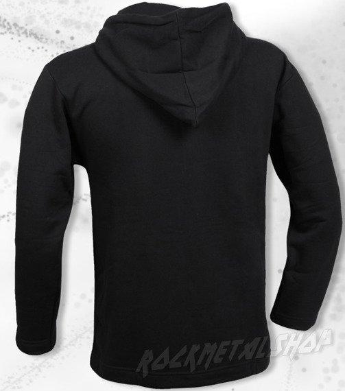 bluza BLACK ICON - HELL IS WAITING FOR YOU czarna z kapturem