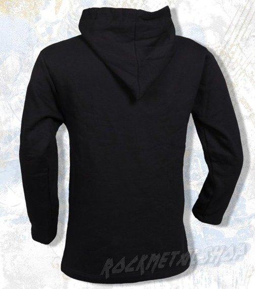 bluza BLACK ICON - SMASH BABY SMASH czarna z kapturem (BICON037)