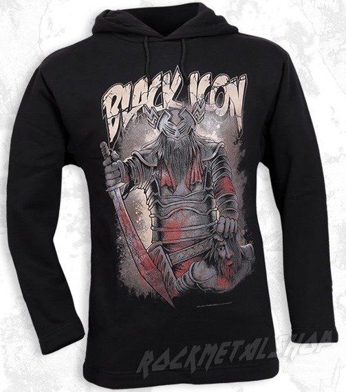 bluza BLACK ICON - TRAITOR czarna z kapturem (BICON052)