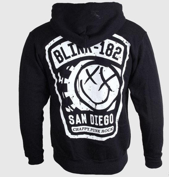 bluza BLINK 182 - SHINE, rozpinana z kapturem