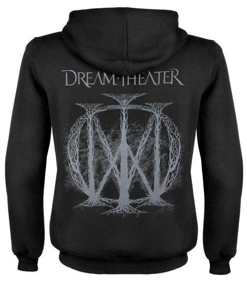 bluza DREAM THEATER czarna, rozpinana z kapturem