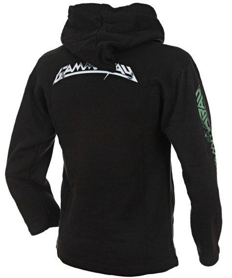 bluza GAMMA RAY - MAJESTIC czarna, z kapturem