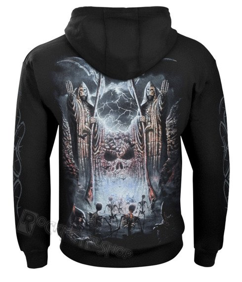 bluza GATES OF DESTINY czarna, z kapturem