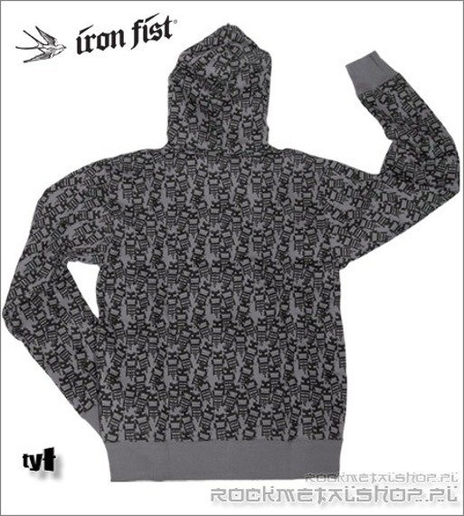 bluza IRON FIST (Electric Chair ) (Charcoal)