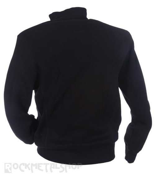 bluza KULT - LOGO HAFT czarna