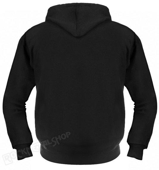 bluza MECHANIC czarna, z kapturem