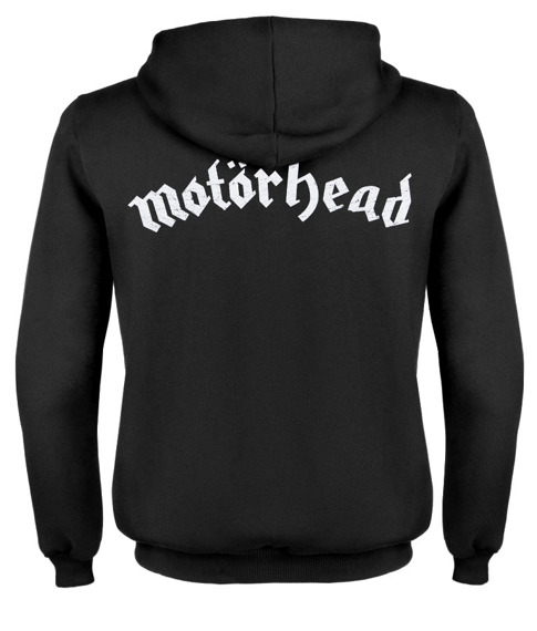 bluza MOTORHEAD - MOTORHEAD - IRON FIST, rozpinana z kapturem
