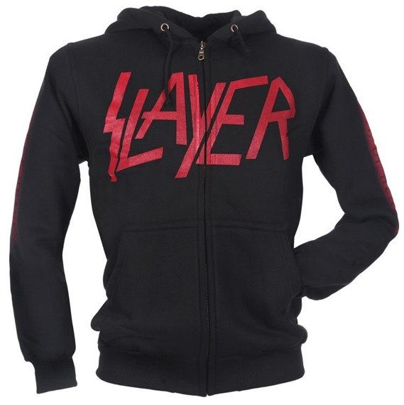bluza SLAYER - SOUTH OF HEAVEN rozpinana, z kapturem