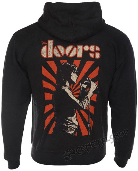 bluza THE DOORS - LIZARD KING, rozpinana z kapturem