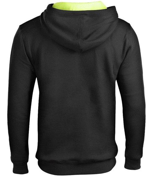 bluza VANS - CLASSIC BLACK, kangurka z kapturem