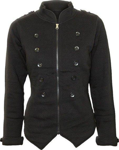 bluza damska UNION CREST czarna, rozpinana