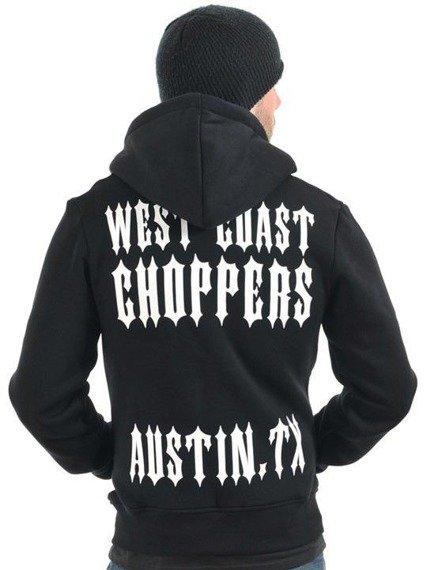 bluza rozpinana WEST COAST CHOPPERS - AUSTIN.TX black