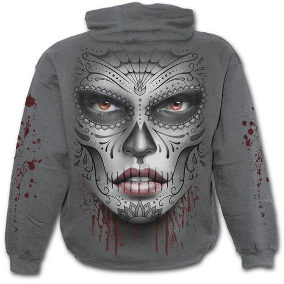bluza z kapturem DEATH MASK