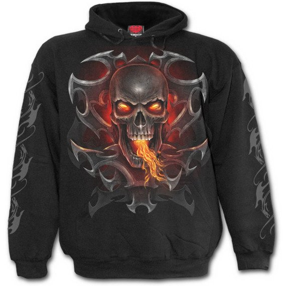 bluza z kapturem FIRE DRAGON