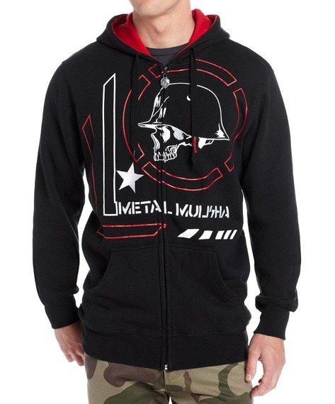 bluza z kapturem METAL MULISHA - JINX czarna