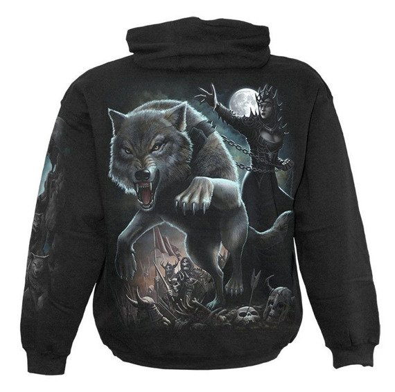 bluza z kapturem WOLF QUEEN
