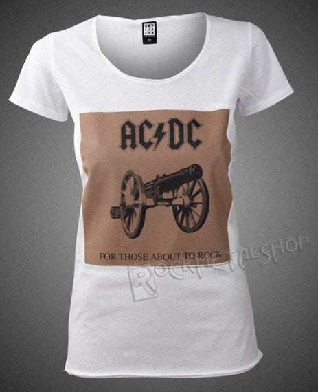 bluzka damska AC/DC - FOR THOSE ABOUT TO ROCK