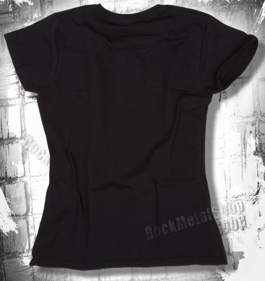 bluzka damska BLACK ICON - ROCK'N'ROLL IS DEAD (DICON107) black