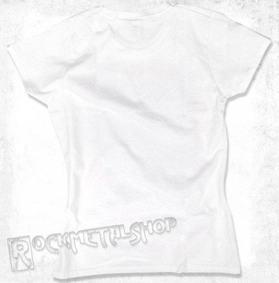 bluzka damska BLACK ICON - UNICORPSE biała (DICON105 WHITE)