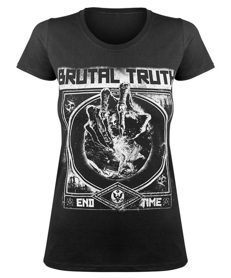 bluzka damska BRUTAL TRUTH - END TIME