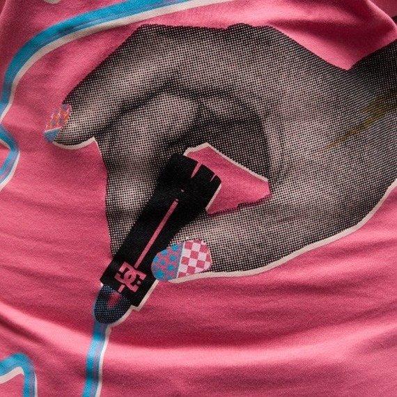 bluzka damska DC - SPARKLE (HOT PINK)