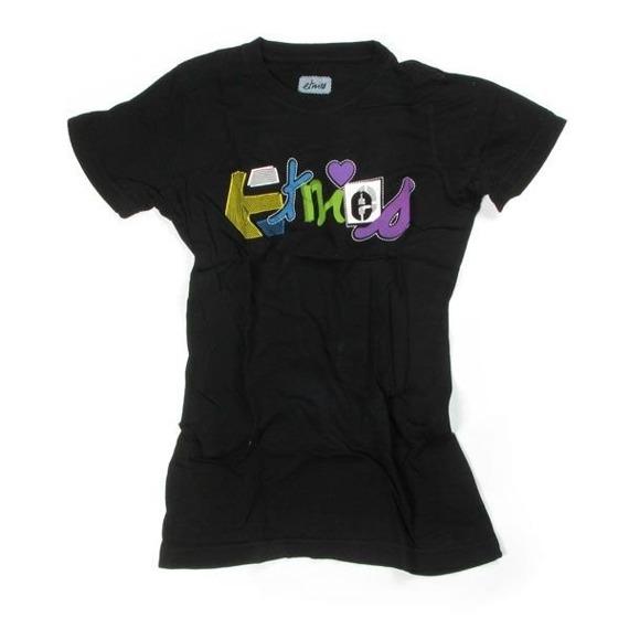 bluzka damska ETNIES - E LOVE (BLACK) 09'