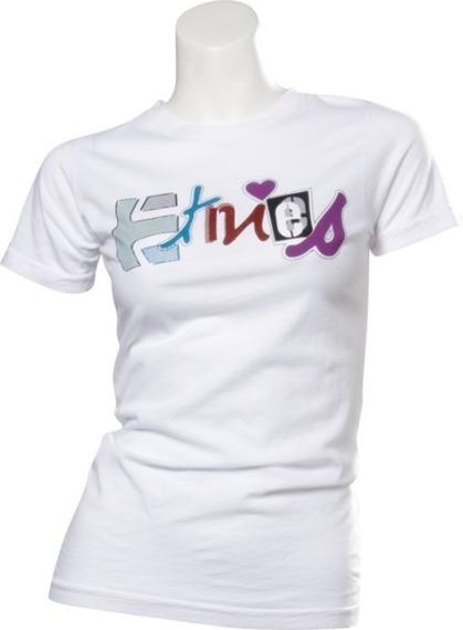 bluzka damska ETNIES - E LOVE (WHITE) 09'