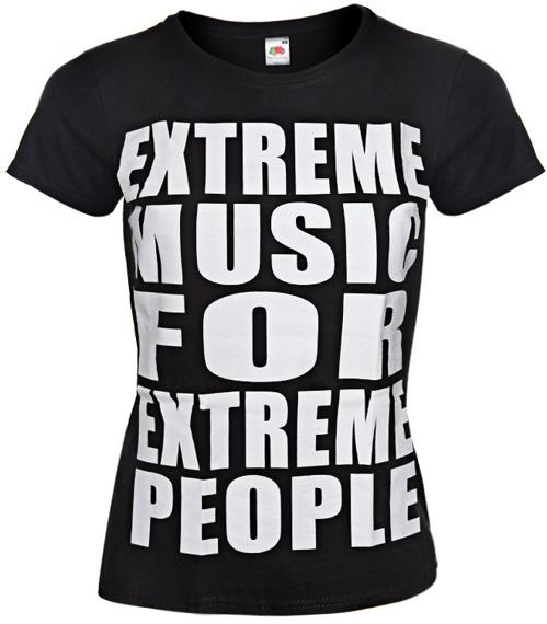 bluzka damska EXTREME MUSIC FOR EXTREME PEOPLE