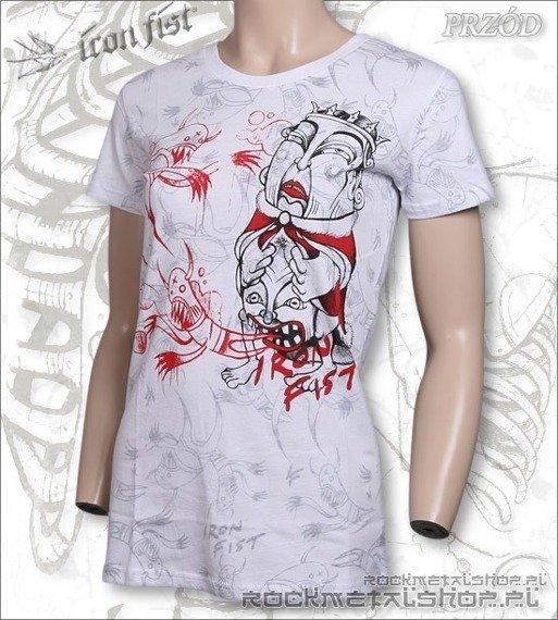 bluzka damska  IRON FIST - EXORCISE  (WHITE)